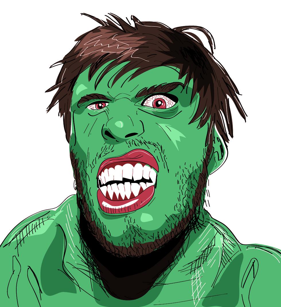 Hulkish